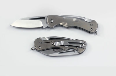 Titanium Crew Folder Rigging Knife TF377
